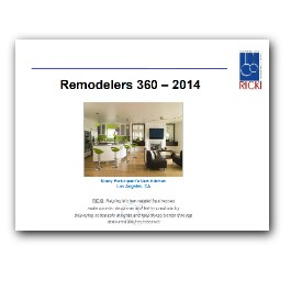 Remodelers 360 - 2014