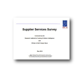 Supplier Services Survey Report
