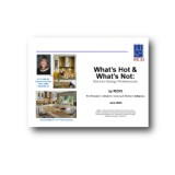 What's Hot & What's Not: Kitchen Design Preferences